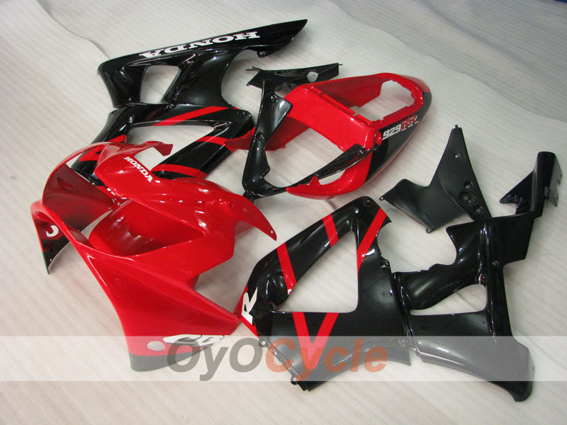 Injection ABS Fairing kit For Honda CBR929RR 2000-2001 - Red Black - Factory Style
