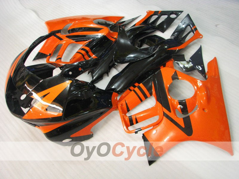 Injection ABS Fairing kit For Honda CBR600F3 1995-1996 - Orange Black - Factory Style