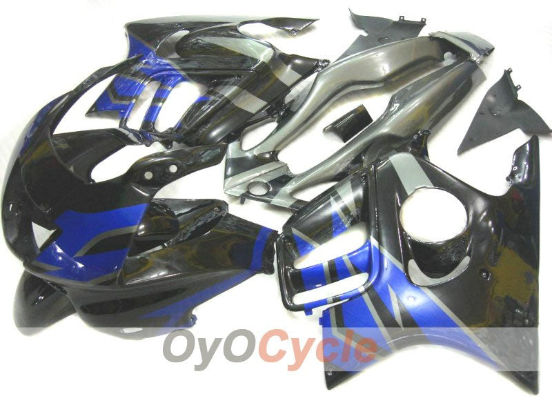 Injection ABS Fairing kit For Honda CBR600F3 1995-1996 - Blue Black - Factory Style