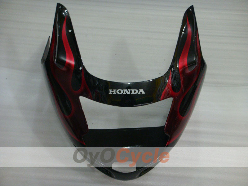 Injection ABS Fairing kit For Honda CBR1100XX 1996-2007 - Red, Black - Flame