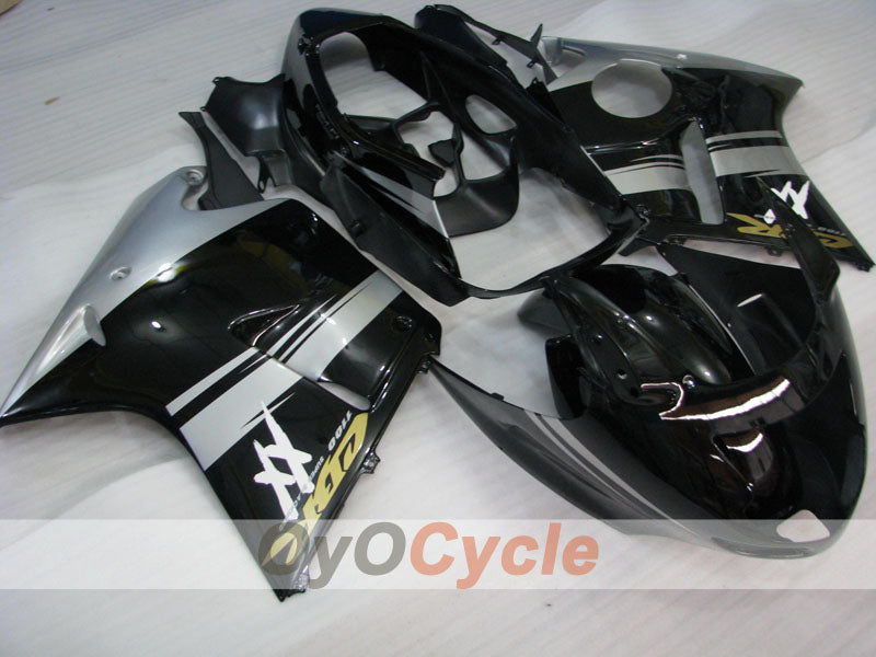 Injection ABS Fairing kit For Honda CBR1100XX 1996-2007 - Black, Silver - Factory Style