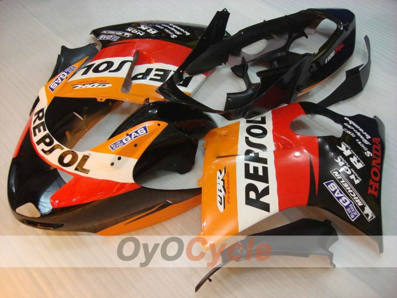 Injection ABS Fairing kit For Honda CBR1100XX 1996-2007 - Red, Black - Repsol