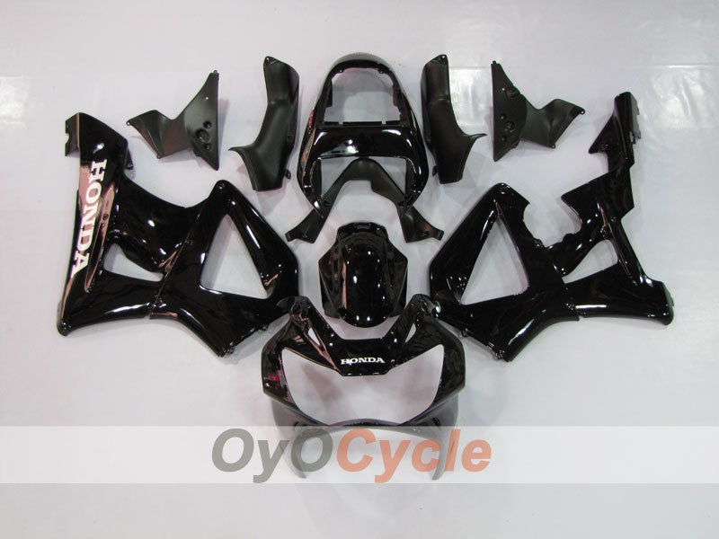 Injection ABS Fairing kit For Honda CBR929RR 2000-2001 - Black - Factory Style