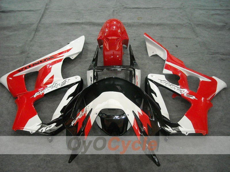 Injection ABS Fairing kit For Honda CBR929RR 2000-2001 - Red White - Factory Style
