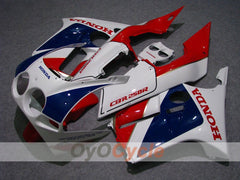 Injection ABS Fairing kit For Honda CBR250RR 1988-1989 - Red, Blue - Factory Style