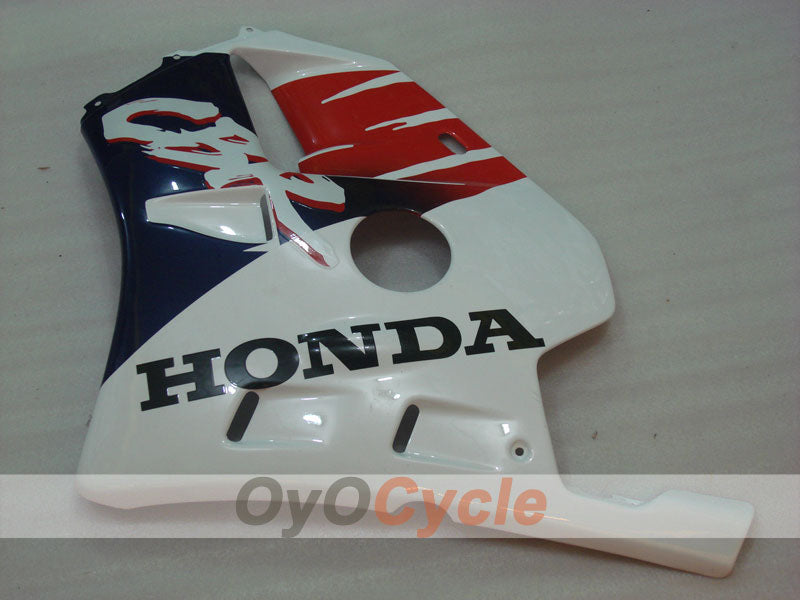 Injection ABS Fairing kit For Honda CBR250RR 1990-1994 - Red, White - Fireblade