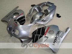 Injection ABS Fairing kit For Honda CBR250RR 1990-1994 - Black, Silver - Factory Style