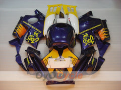 Injection ABS Fairing kit For Honda CBR600F2 1991-1994 - Yellow, Purple - Camel