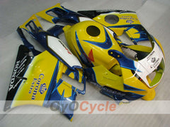 Injection ABS Fairing kit For Honda CBR600F2 1991-1994 - Yellow Blue - Corona