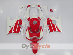 Injection ABS Fairing kit For Honda CBR600F2 1991-1994 - Red, White - Factory Style