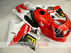 Injection ABS Fairing kit For Honda CBR600F2 1991-1994 - Red Black - Factory Style
