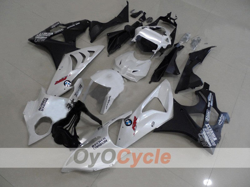 Injection ABS Fairing kit For Bmw S1000RR 2009-2014 - White, Black - Castrol
