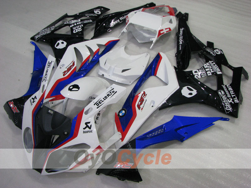 Injection ABS Fairing kit For Bmw S1000RR 2009-2014 - Blue, White - Castrol