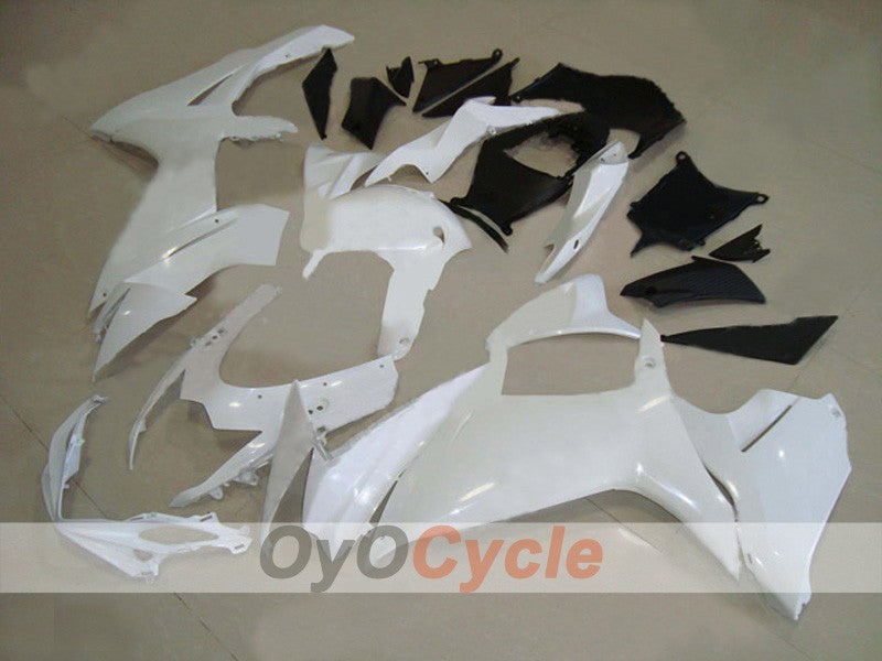 Injection ABS Fairing kit For Suzuki GSXR600 2011-2016 - White, Black - Factory Style