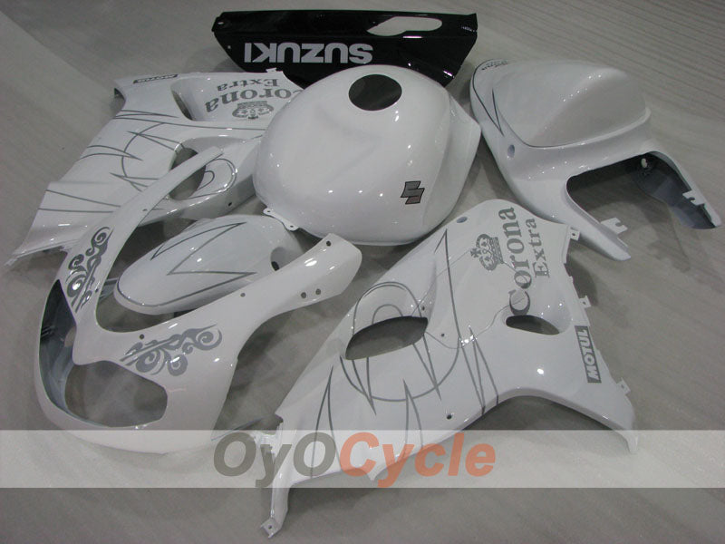 Injection ABS Fairing kit For Suzuki TL1000R 1998-2003 - White - Corona