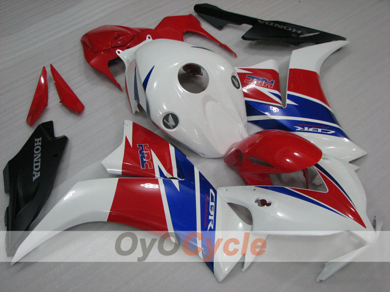 Injection ABS Fairing kit For Honda CBR1000RR 2012-2016 - Red White - Factory Style