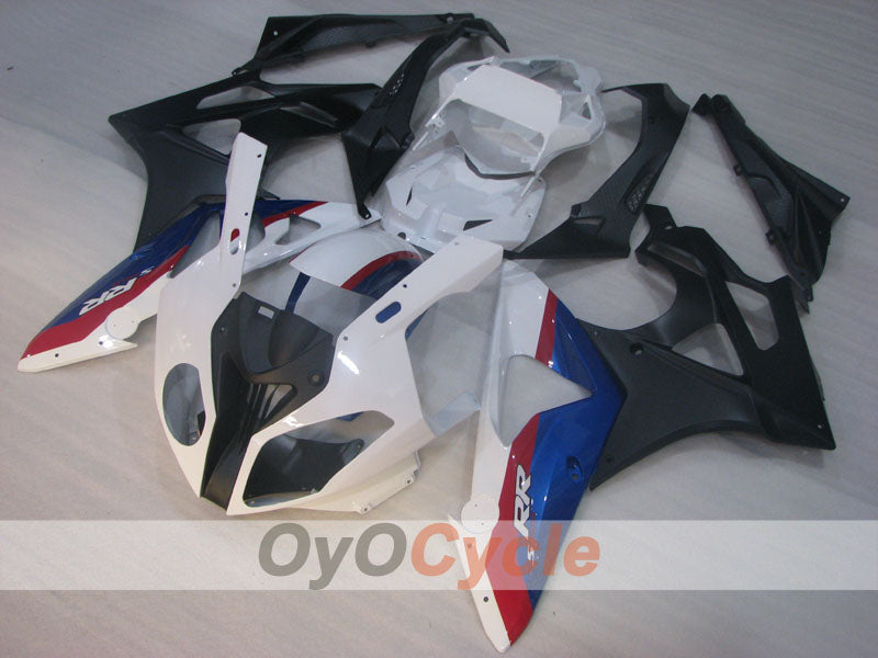 Injection ABS Fairing kit For Bmw S1000RR 2009-2014 - White, Black - Factory Style