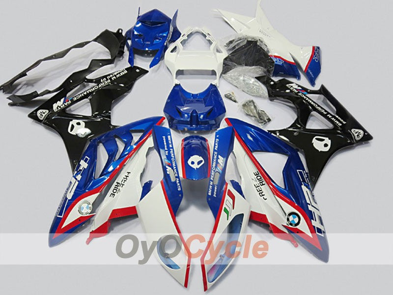 Injection ABS Fairing kit For Bmw S1000RR 2009-2014 - Blue, White, Black - Performance
