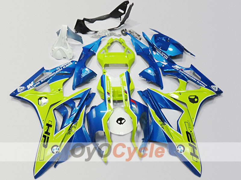 Injection ABS Fairing kit For Bmw S1000RR 2009-2014 - Yellow, Blue - Performance