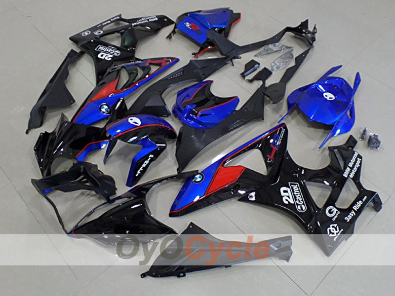 Injection ABS Fairing kit For Bmw S1000RR 2009-2014 - Red, Blue, Black - Castrol
