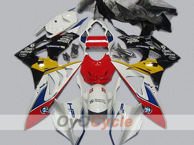Injection ABS Fairing kit For Bmw S1000RR 2009-2014 - Red, White, Black - Castrol