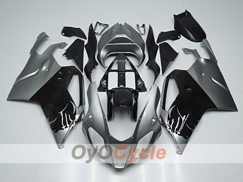 Injection ABS Fairing kit For Aprilia RSV 1000 R 2003-2006 - Black - Flame