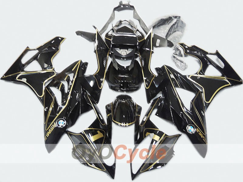Injection ABS Fairing kit For Bmw S1000RR 2009-2014 - Black - Factory Style