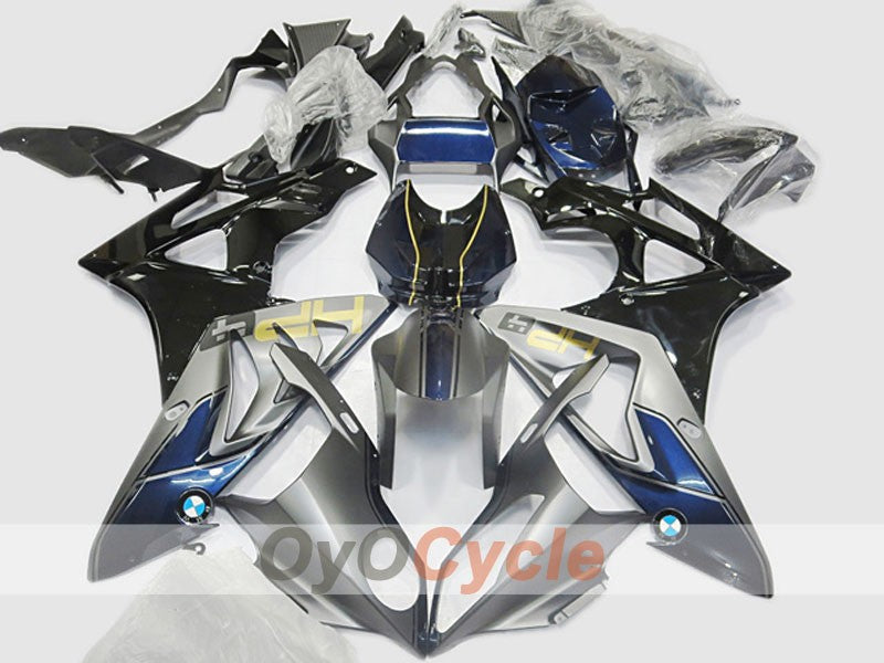 Injection ABS Fairing kit For Bmw S1000RR 2009-2014 - Blue, Black, Grey - HM Plant
