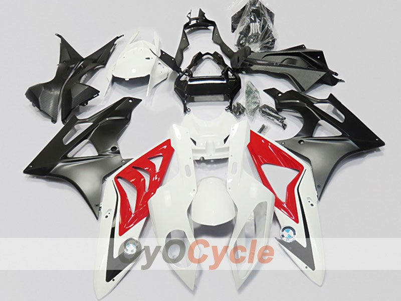 Injection ABS Fairing kit For Bmw S1000RR 2009-2014 - Red, White, Black - Factory Style