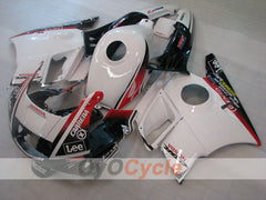 Injection ABS Fairing kit For Honda CBR600F2 1991-1994 - White Black - Lee