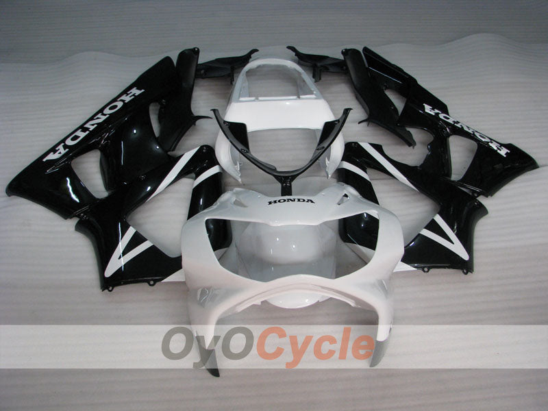 Injection ABS Fairing kit For Honda CBR929RR 2000-2001 - White, Black - Factory Style