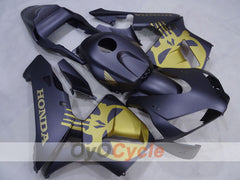 Injection ABS Fairing kit For Honda CBR600RR 2003-2004 - Black, Matte - Factory Style