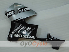 Injection ABS Fairing kit For Honda CBR600RR 2005-2006 - Black, Silver - Repsol