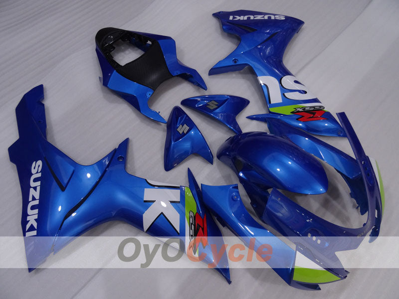 Injection ABS Fairing kit For Suzuki GSXR600 2011-2016 - Blue - Factory Style