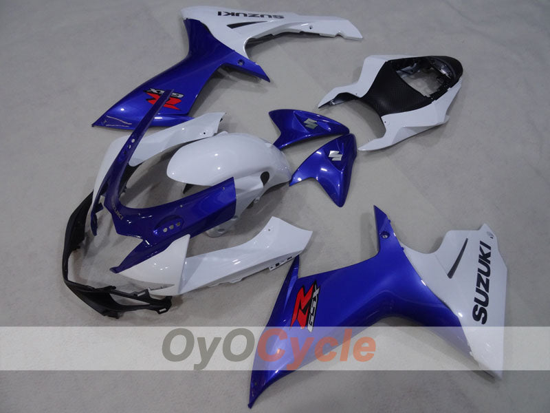 Injection ABS Fairing kit For Suzuki GSXR600 2011-2016 - Blue, White - Factory Style