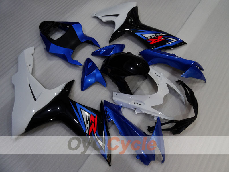 Injection ABS Fairing kit For Suzuki GSXR600 2011-2016 - Blue, White, Black - Factory Style