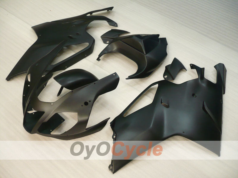 Injection ABS Fairing kit For Aprilia RSV 1000 R 2003-2006 - Black, Matte - Factory Style