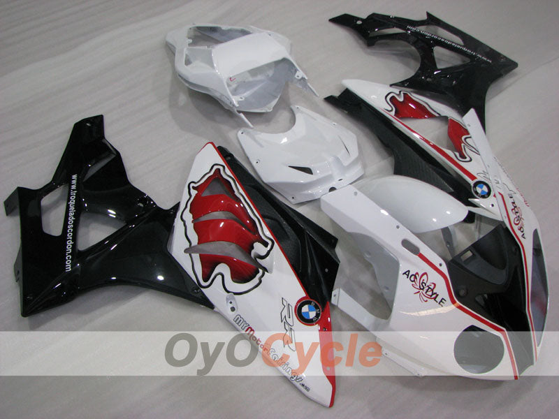 Injection ABS Fairing kit For Bmw S1000RR 2009-2014 - Red, White, Black - Factory Style, Customize