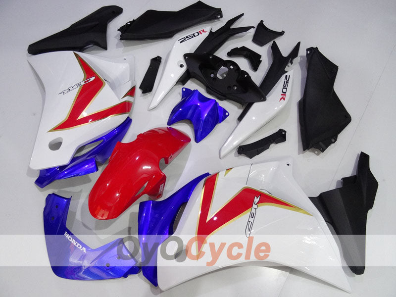 Injection ABS Fairing kit For Honda CBR250RR 2011-2016 - Red, Blue, White - Factory Style