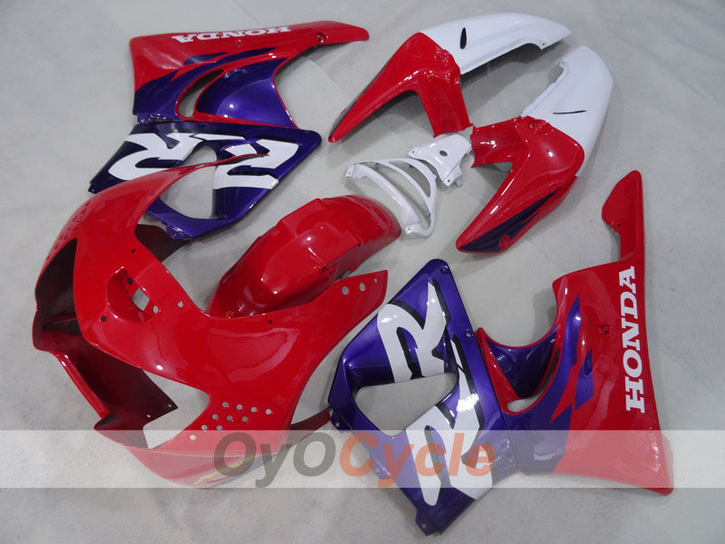 ABS Fairing kit For Honda CBR919RR 1998-1999- Red Purple - Factory Style