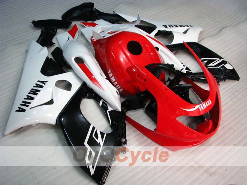 Injection ABS Fairing kit For Yamaha YZF600R 1997-2007 - Red White Black - Factory Style