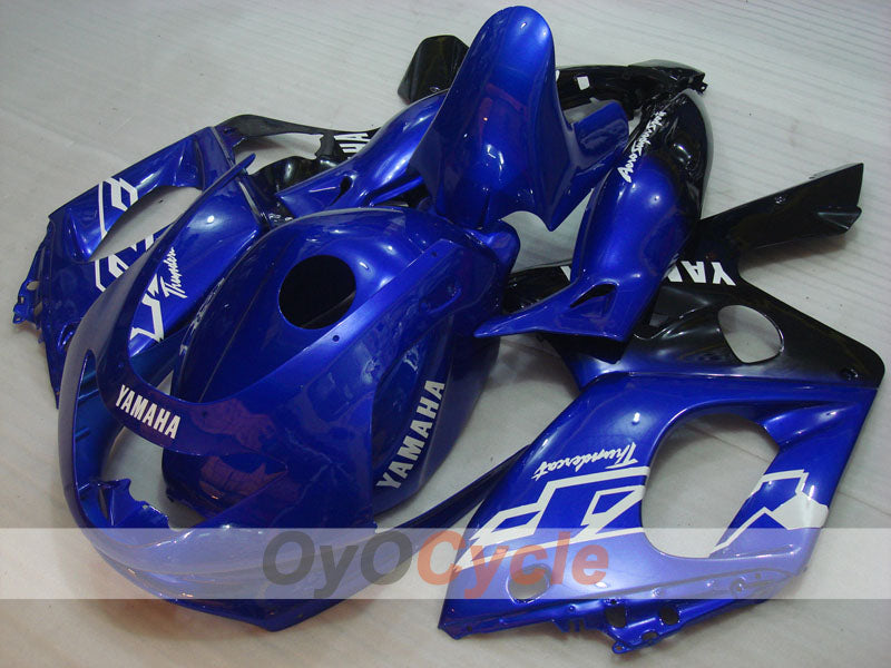 Injection ABS Fairing kit For Yamaha YZF600R 1997-2007 - Blue Black - Factory Style