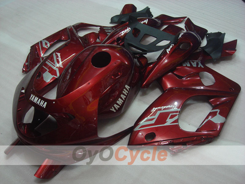 Injection ABS Fairing kit For Yamaha YZF600R 1997-2007 - Red Wine Color - Factory Style