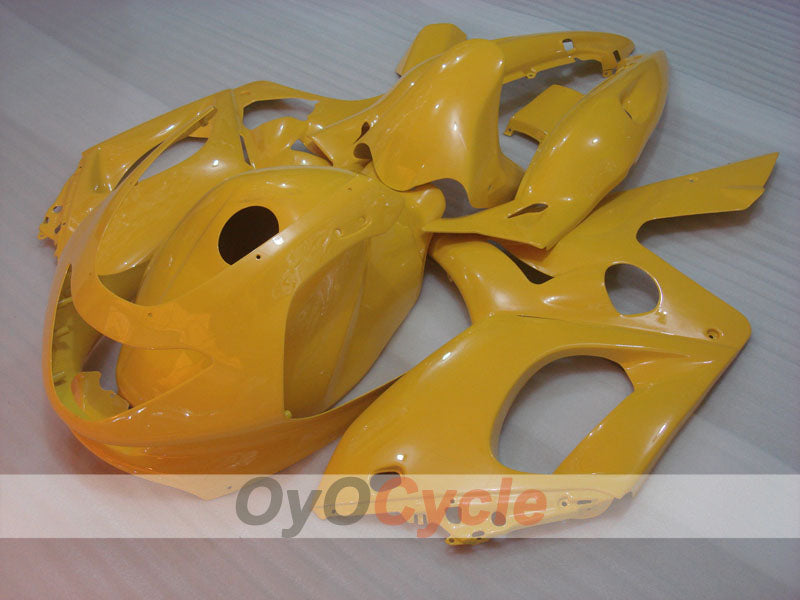 Injection ABS Fairing kit For Yamaha YZF600R 1997-2007 - Yellow - No sticker / decal, Factory Style