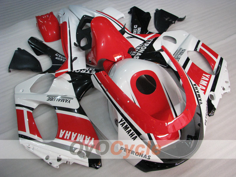 Injection ABS Fairing kit For Yamaha YZF600R 1997-2007 - Red White Black - PETRONAS