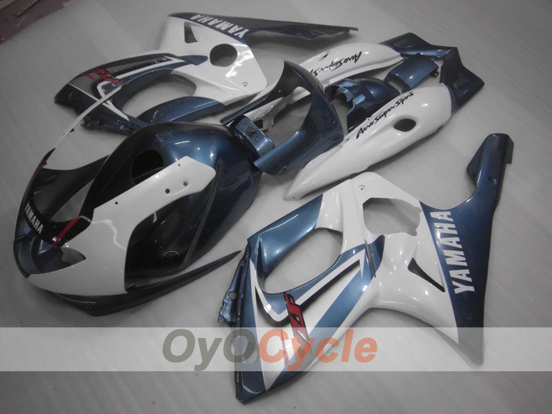 Injection ABS Fairing kit For Yamaha YZF600R 1997-2007 - White Grey - Factory Style