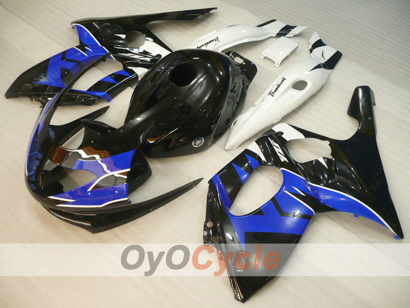 Injection ABS Fairing kit For Yamaha YZF600R 1997-2007 - Blue White Black - Factory Style