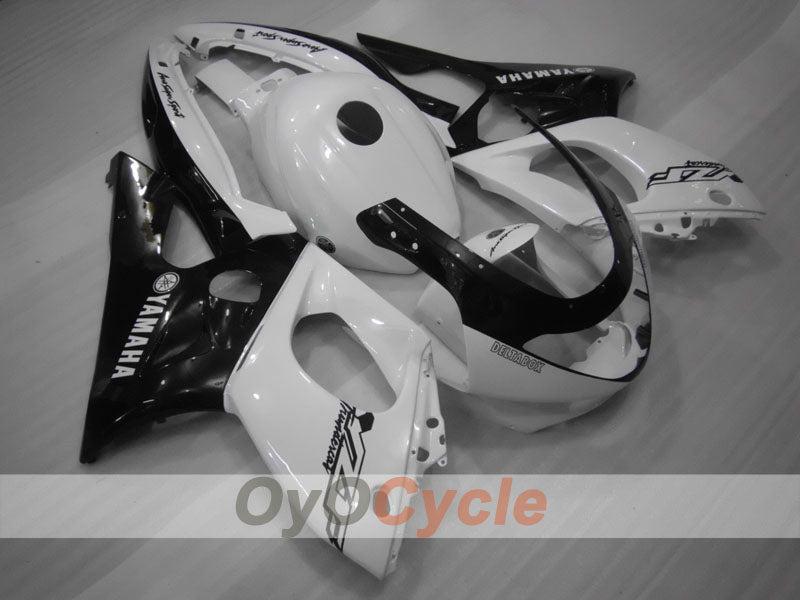 Injection ABS Fairing kit For Yamaha YZF600R 1997-2007 - White Black - Factory Style