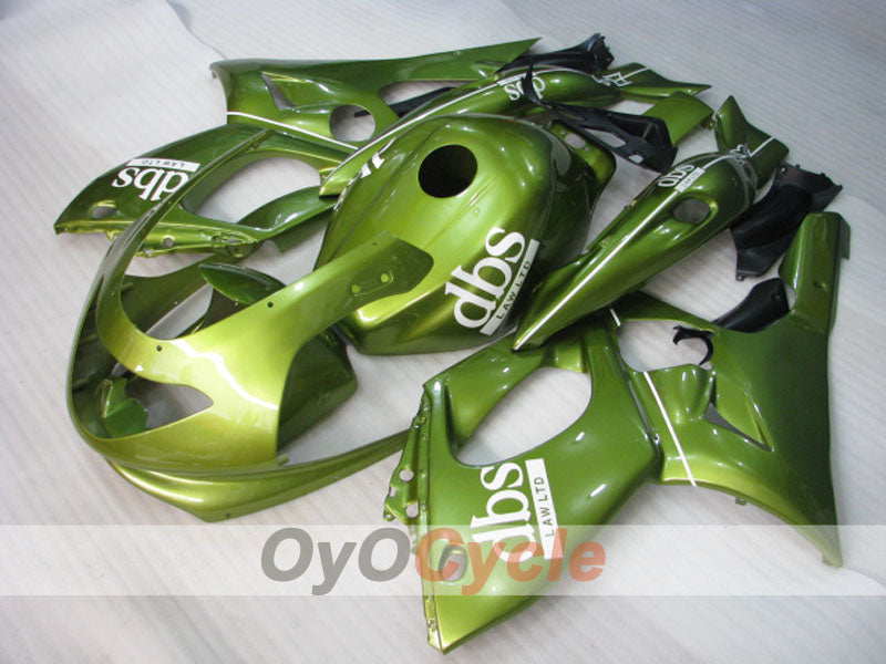 Injection ABS Fairing kit For Yamaha YZF600R 1997-2007 - Green - DBS