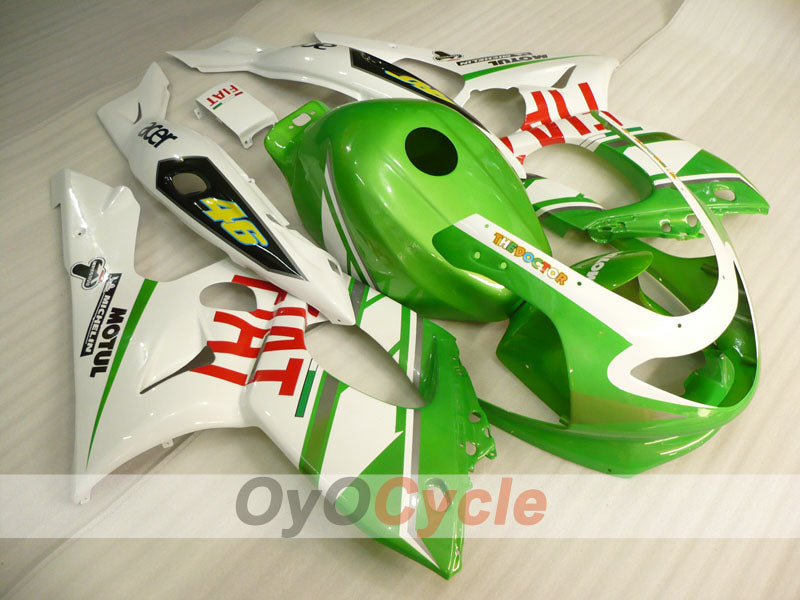 Injection ABS Fairing kit For Yamaha YZF600R 1997-2007 - Green White - FIAT